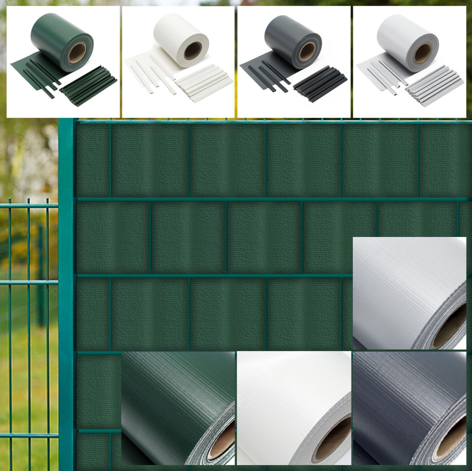 Sichtschutzstreifen PVC Sichtschutzfolie Zaunfolie Windschutz