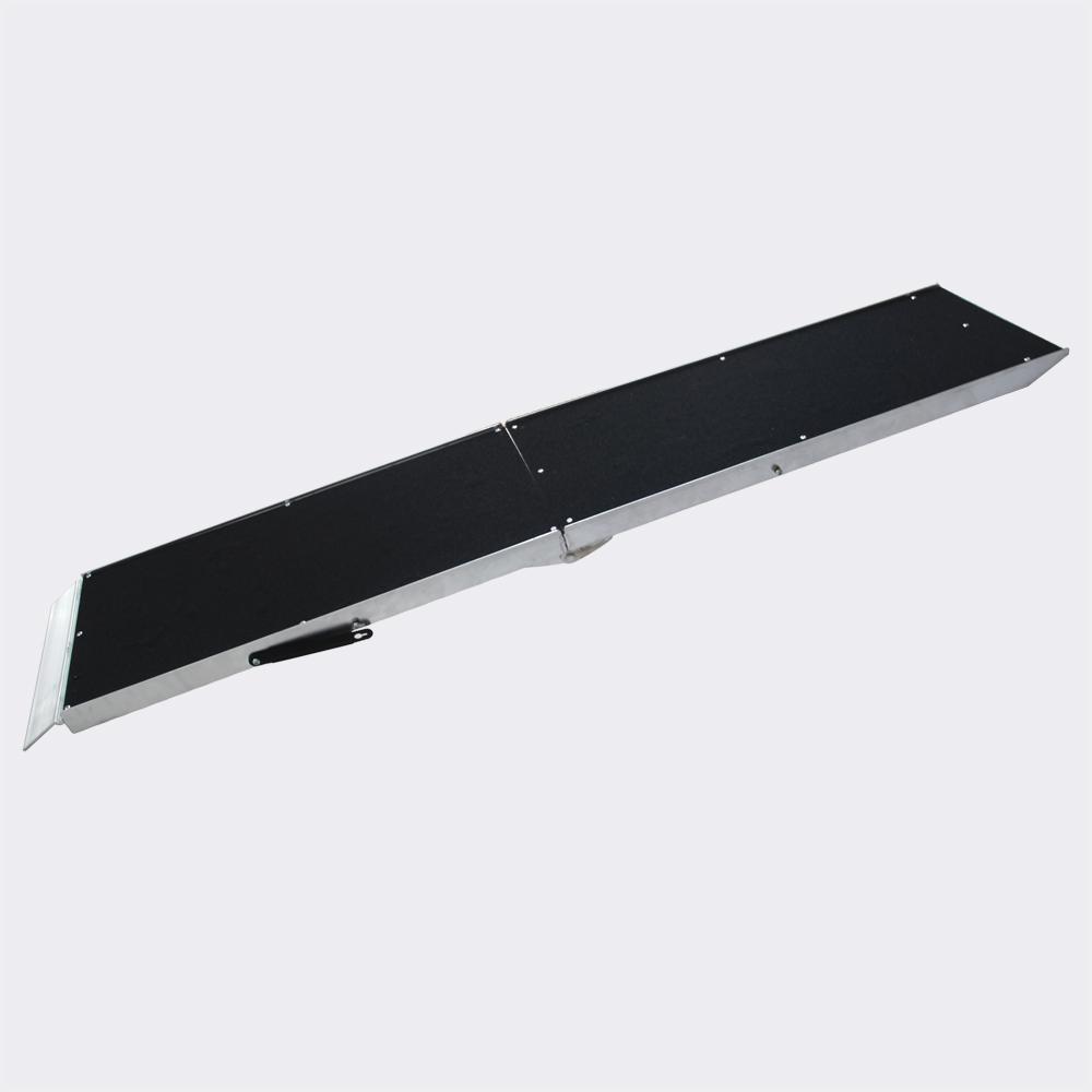 Tierrampe Hunderampe faltbar auf 92x38cm Aluminium 183cm 110kg