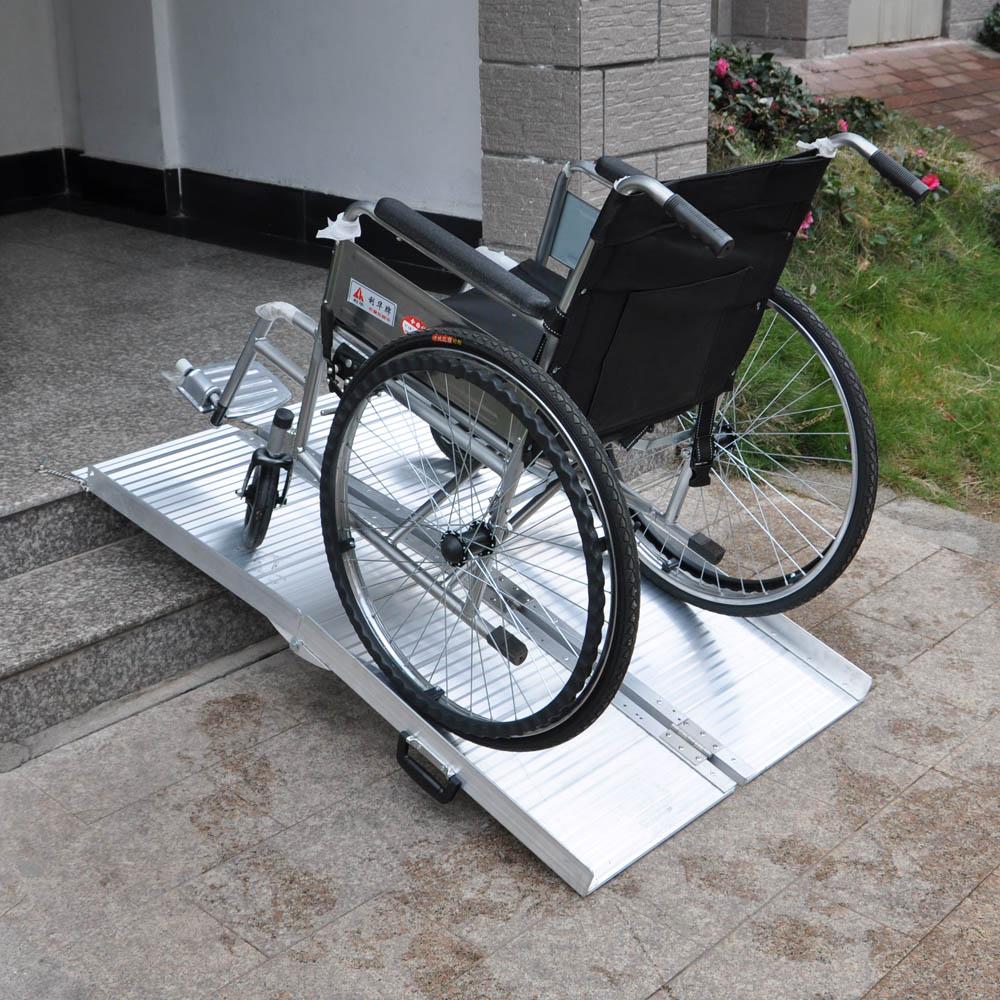 re pour fauteuil roulant 152 5x72x5cm 270kg pliable par 2 aluminium ebay