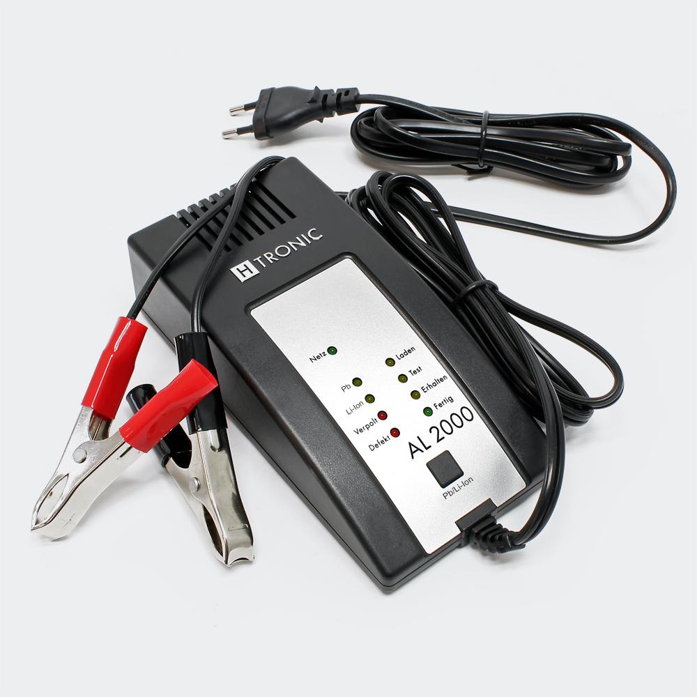 H-Tronic AL2000 Batterie Ladegerät Automatiklader 6V/12V AGM Gel Blei