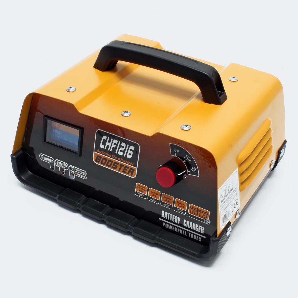KFZ BatterieLadegerät CHF1216 6 V/ 12 V Ladegerät Batterielader