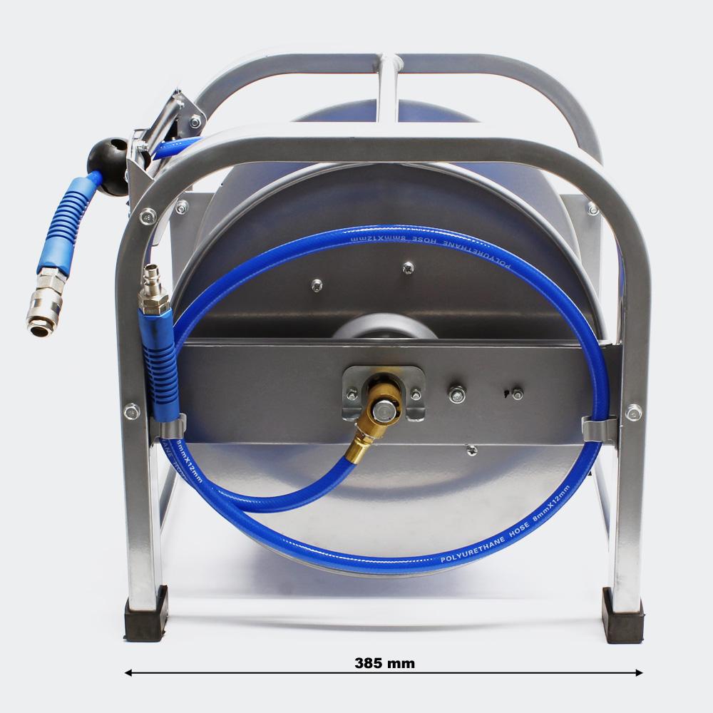 wiltec druckluft schlauchaufroller tragbar automatisch automatischer druckluft. Black Bedroom Furniture Sets. Home Design Ideas