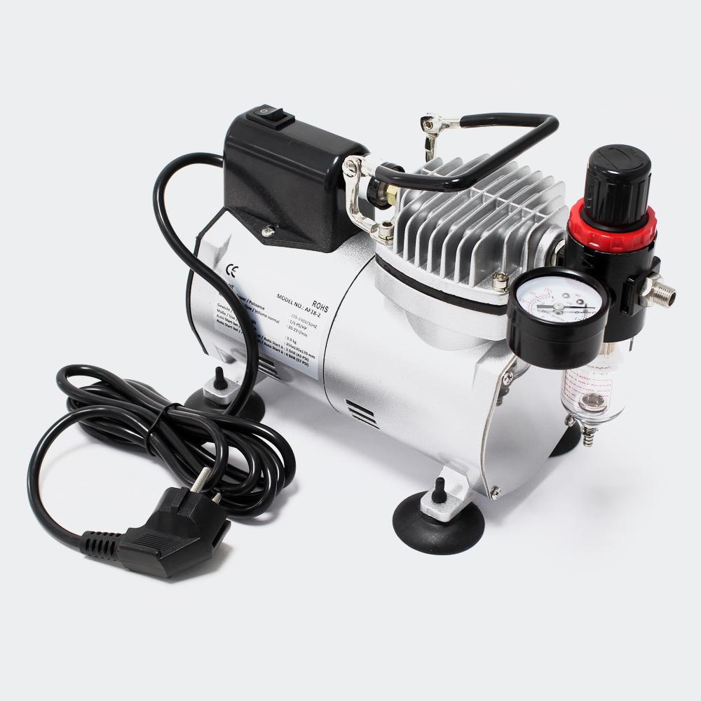 wiltec airbrush kompressor af18 2 mini airbrush kompressor airbrushkompressor modell af18. Black Bedroom Furniture Sets. Home Design Ideas