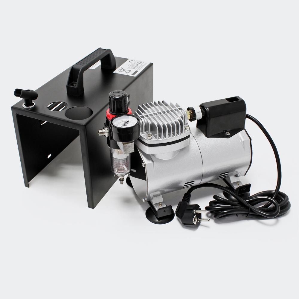 wiltec airbrush kompressor af18b mini compresseur. Black Bedroom Furniture Sets. Home Design Ideas