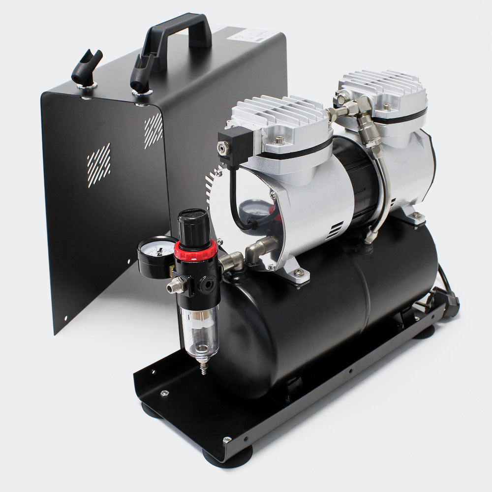 how to connect airbrush to shop compressor