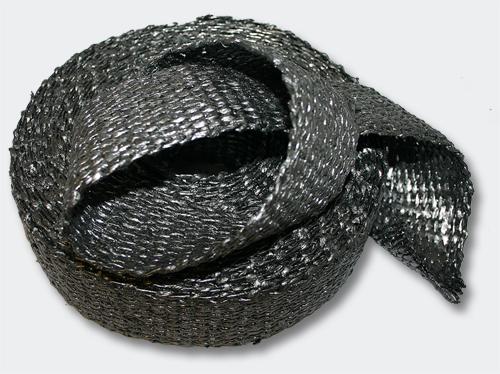 50mm 10m ruban isolant thermique en tissu graphite for Ruban isolant thermique fenetre