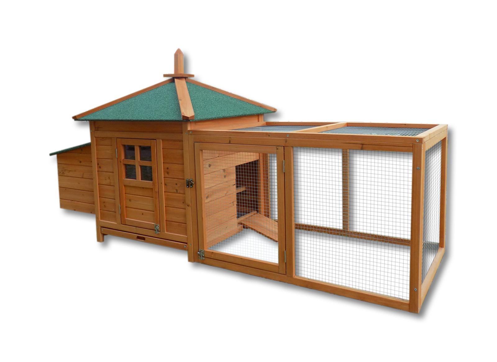Verschiedene-Varianten-Freilaufgehege-Nagerhaus-Hasenstall-Kleintierhaus-Stall