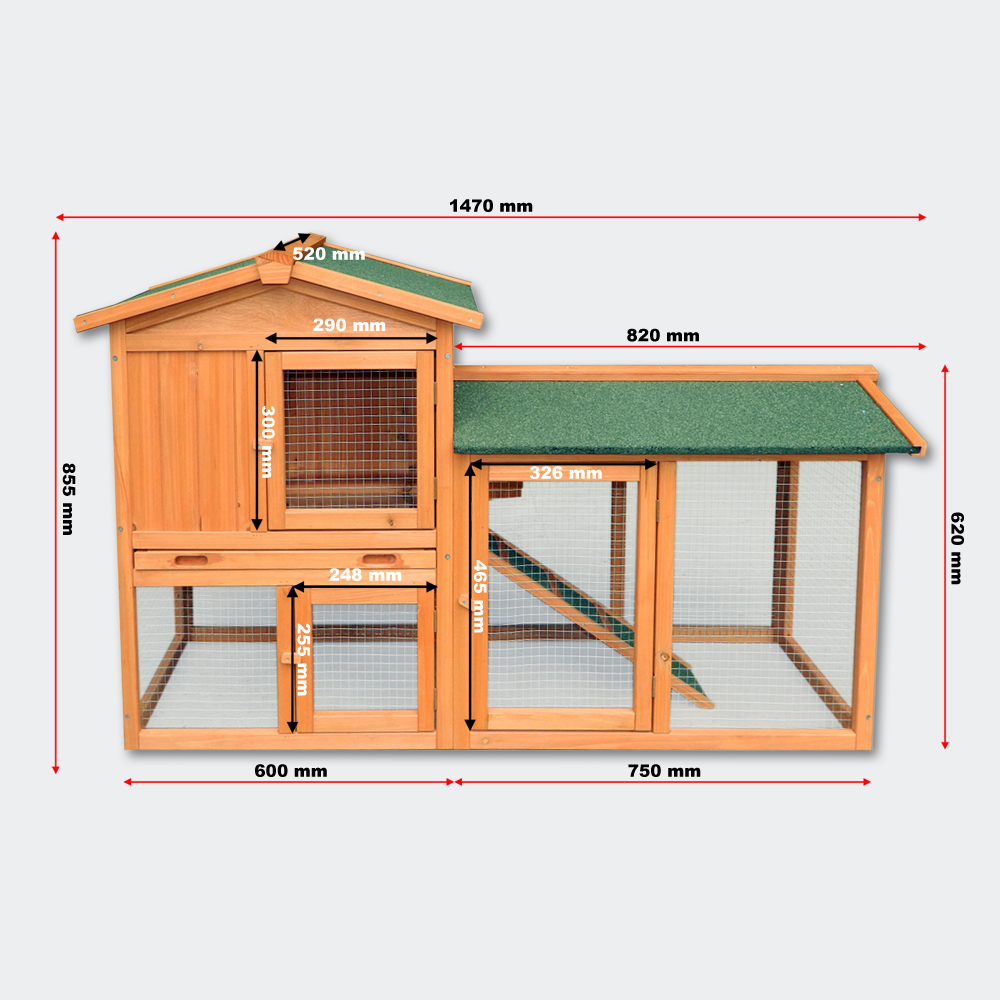 Hühnerstall Nagerhaus Kaninchenstall