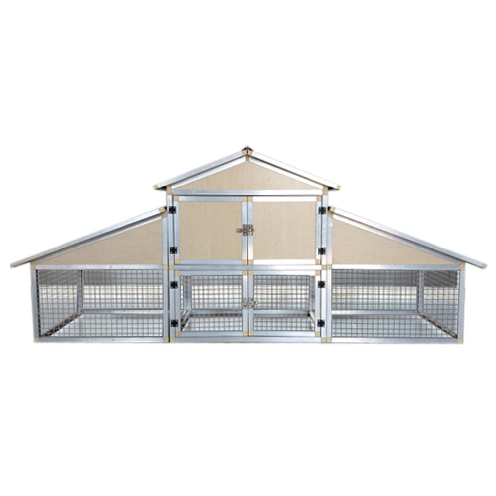 Ttpollaio in alluminio stalla per piccoli animali nido for Piccoli piani domestici vittoriani