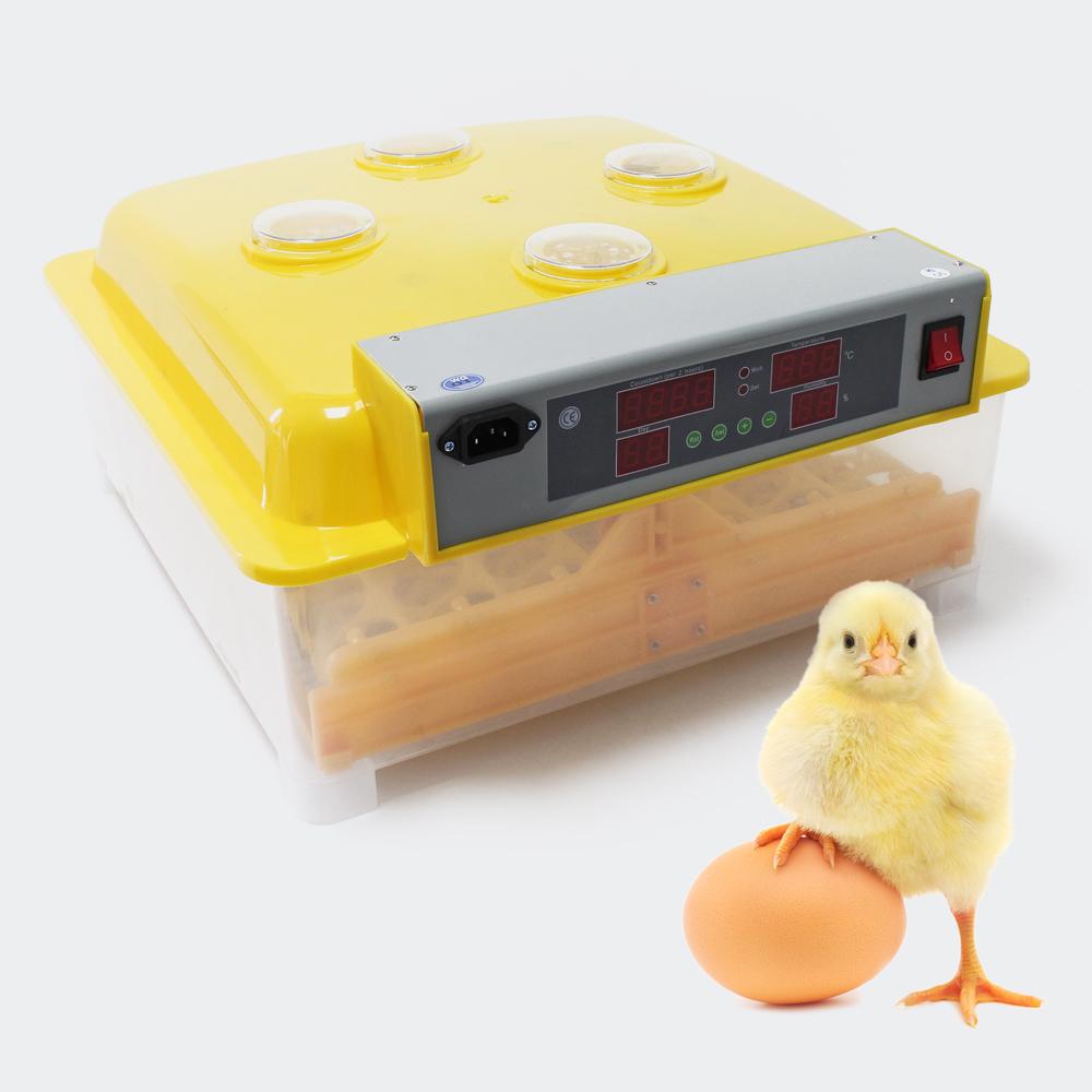 Automatische Brutmaschine 48 Eier Brutapparat Flächenbrüter Inkubator