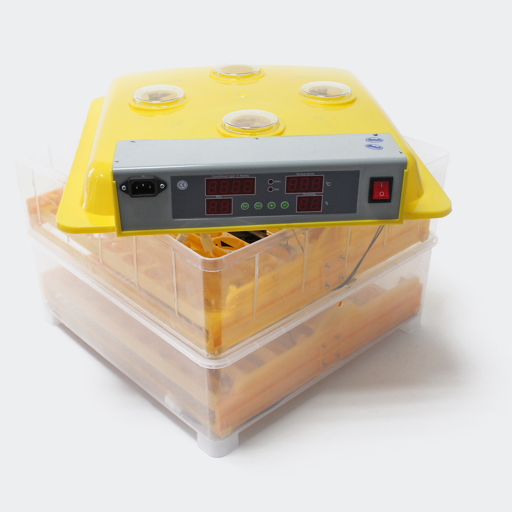 Automatische Brutmaschine 96 Eier Brutapparat Flächenbrüter Inkubator