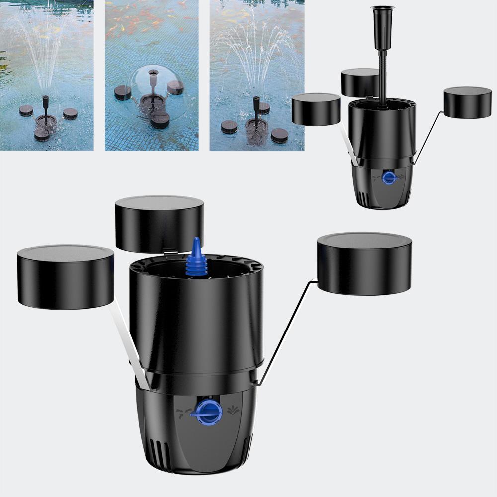 sunsun csp 250 teich schwimm skimmer springbrunnen. Black Bedroom Furniture Sets. Home Design Ideas