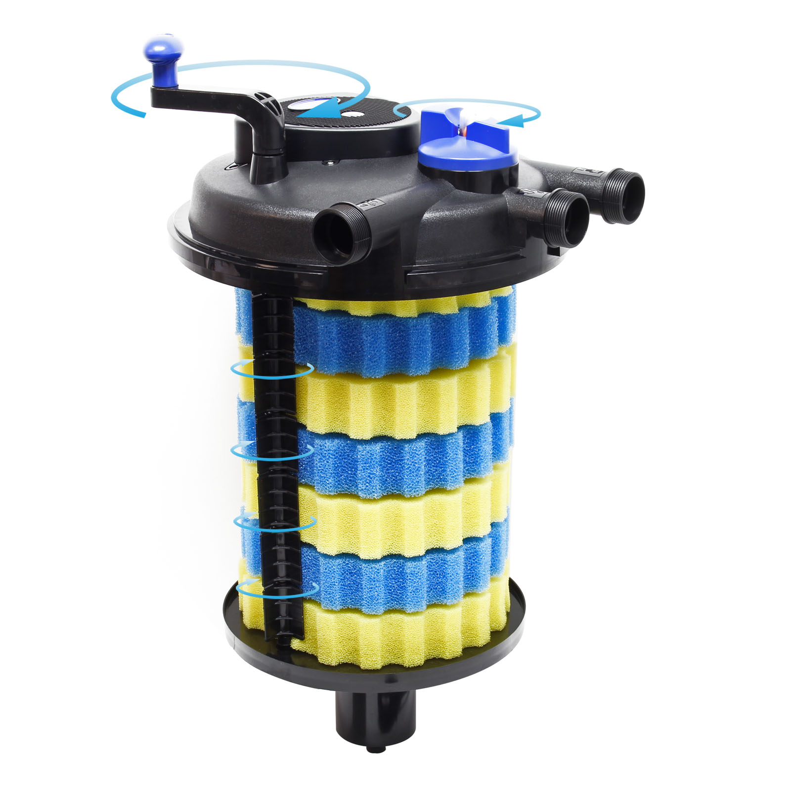 Ttsunsun Spare Part cpf-15000 UVC Lamp 18 W UV For Pressure Pond Filtre