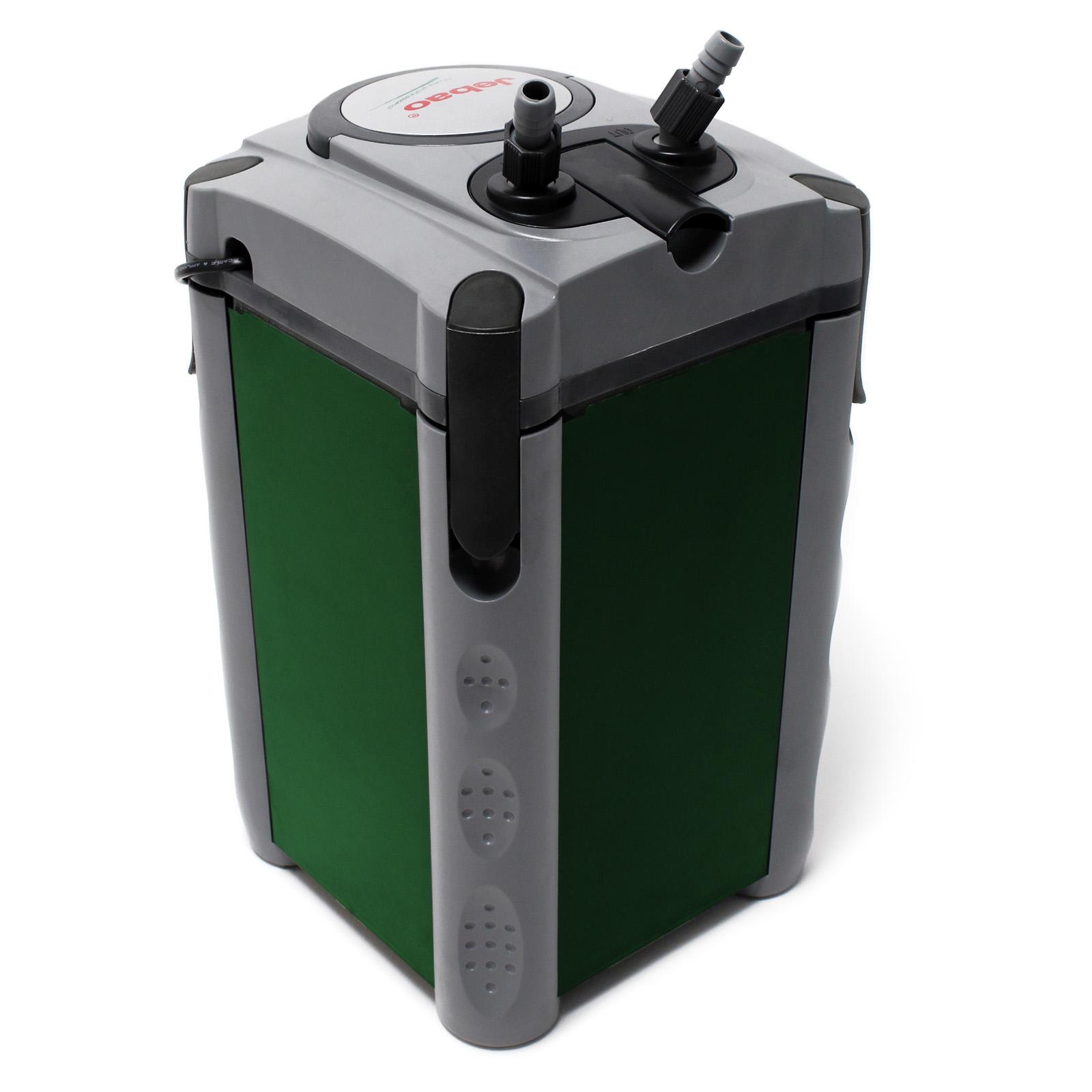 Jebao aquarium external canister 1200l h 4 stage filter for External fish tank filter