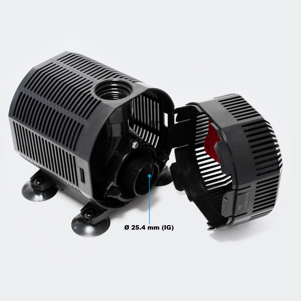 wiltec energiespar filterpumpe teichpumpe bachlaufpumpe sunsun supereco 45w 2700l h. Black Bedroom Furniture Sets. Home Design Ideas