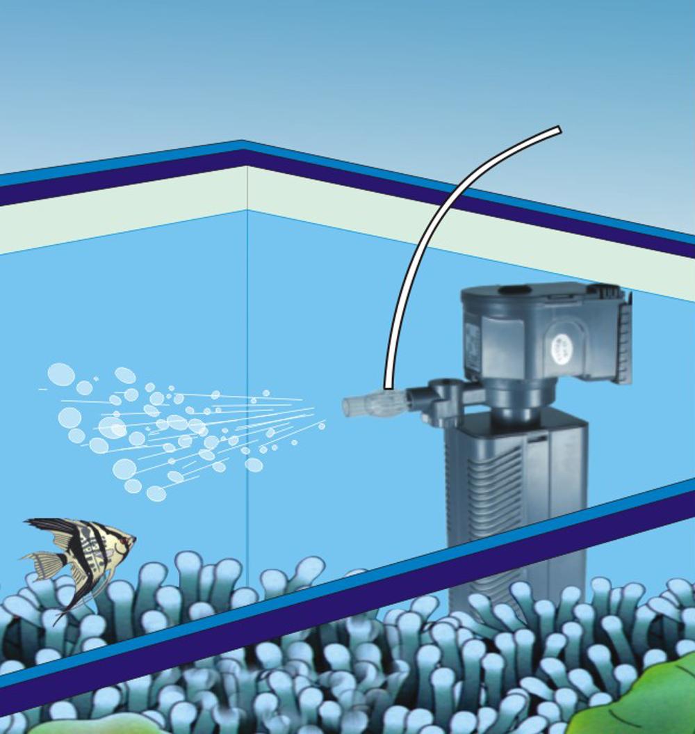 Wiltec sunsun jp 022f pompe interne d 39 aquarium filtre - Pompe filtre aquarium ...