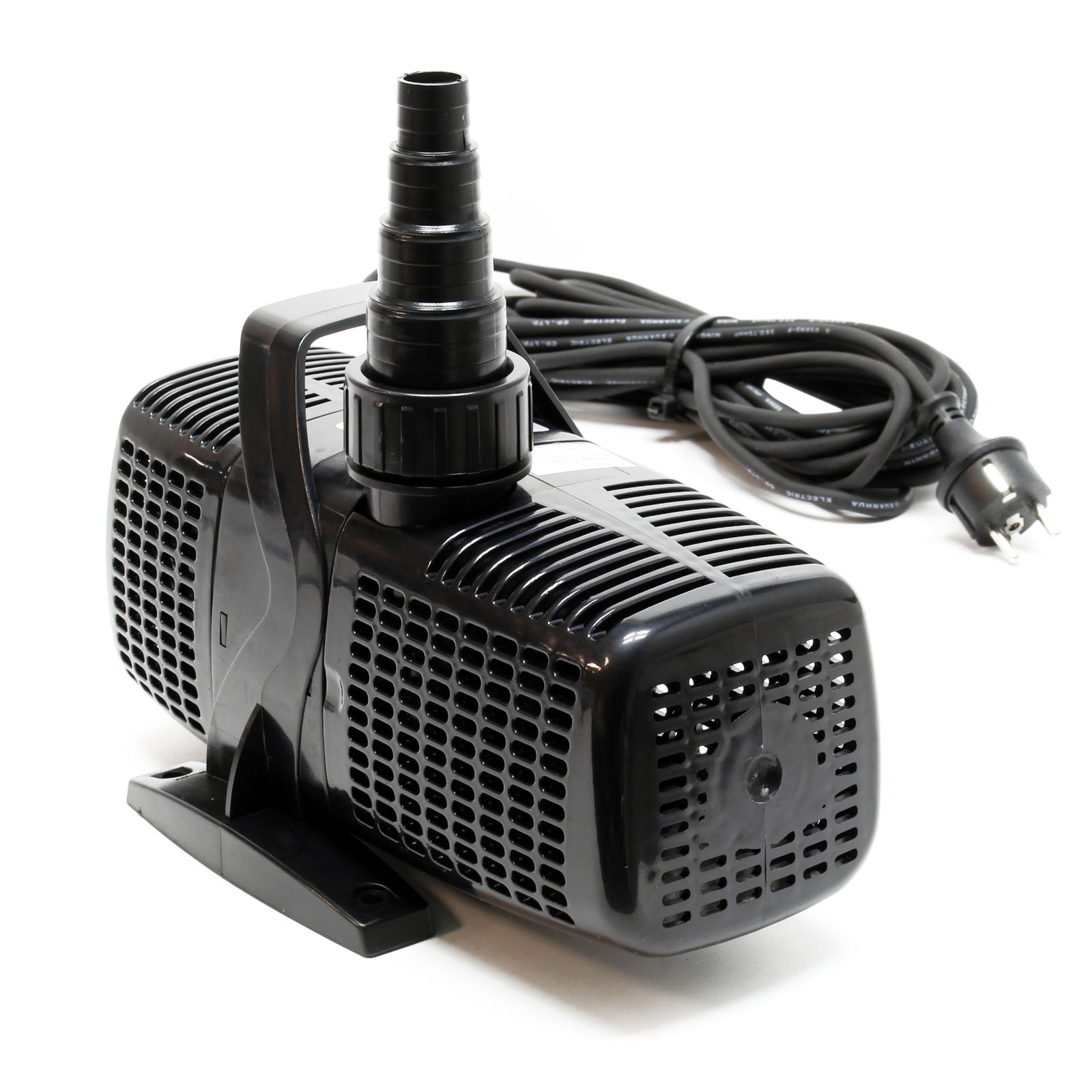 Ttsunsun 16000l h140w supereco pond pump submersible for Pond pump filter