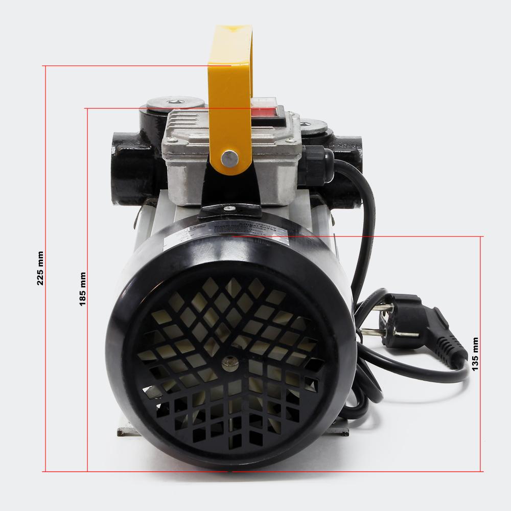 Selbstansaugende Dieselpumpe 230V 550W 20-60L/min