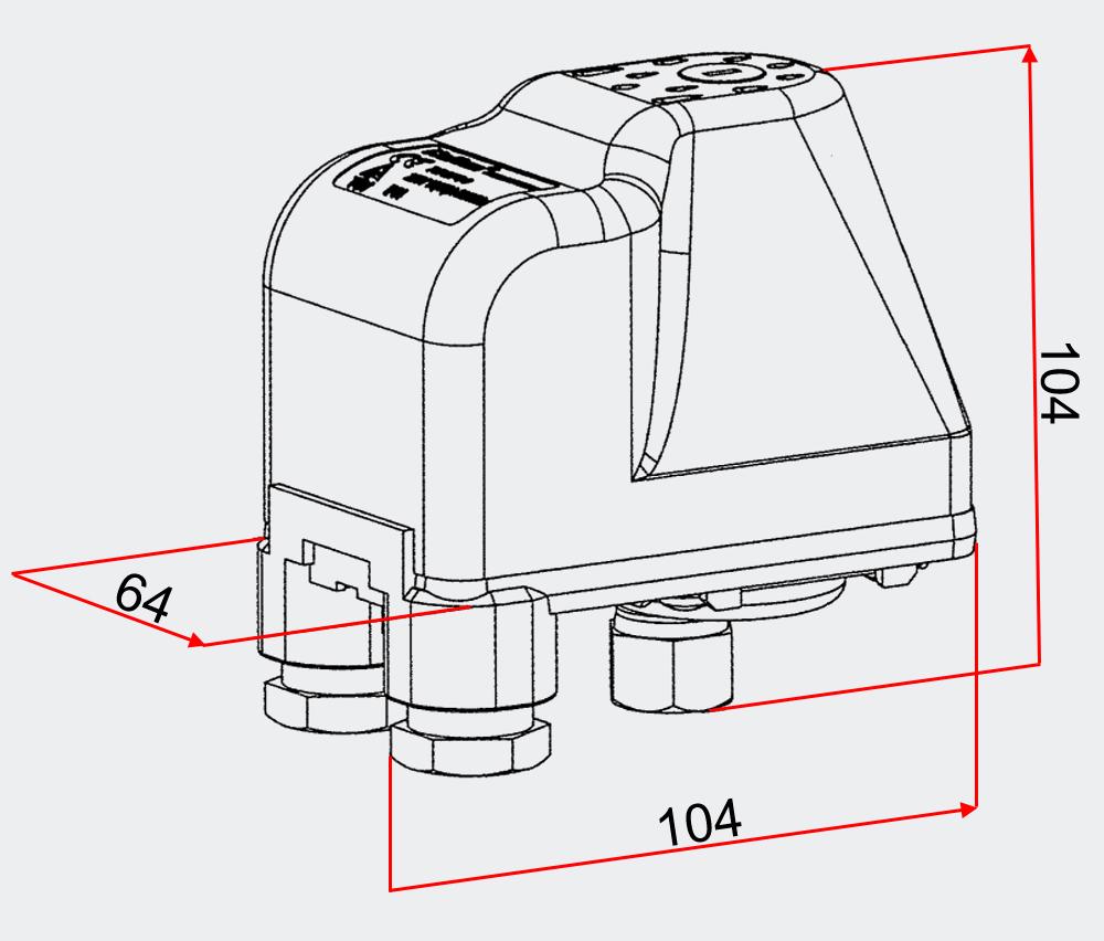 Druckschalter Druckw�chter