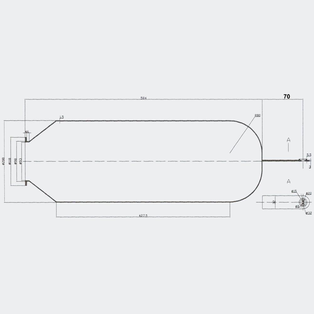 Butyl Membran für Hauswasserwerk
