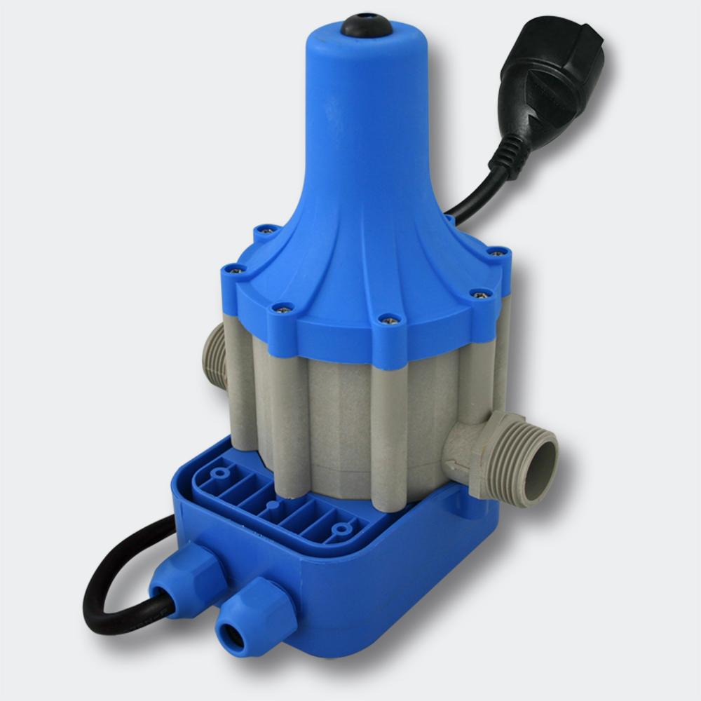wiltec commande de pompe pressostat tpc 10 pour installation d 39 eau domestique prise schuko 50699. Black Bedroom Furniture Sets. Home Design Ideas