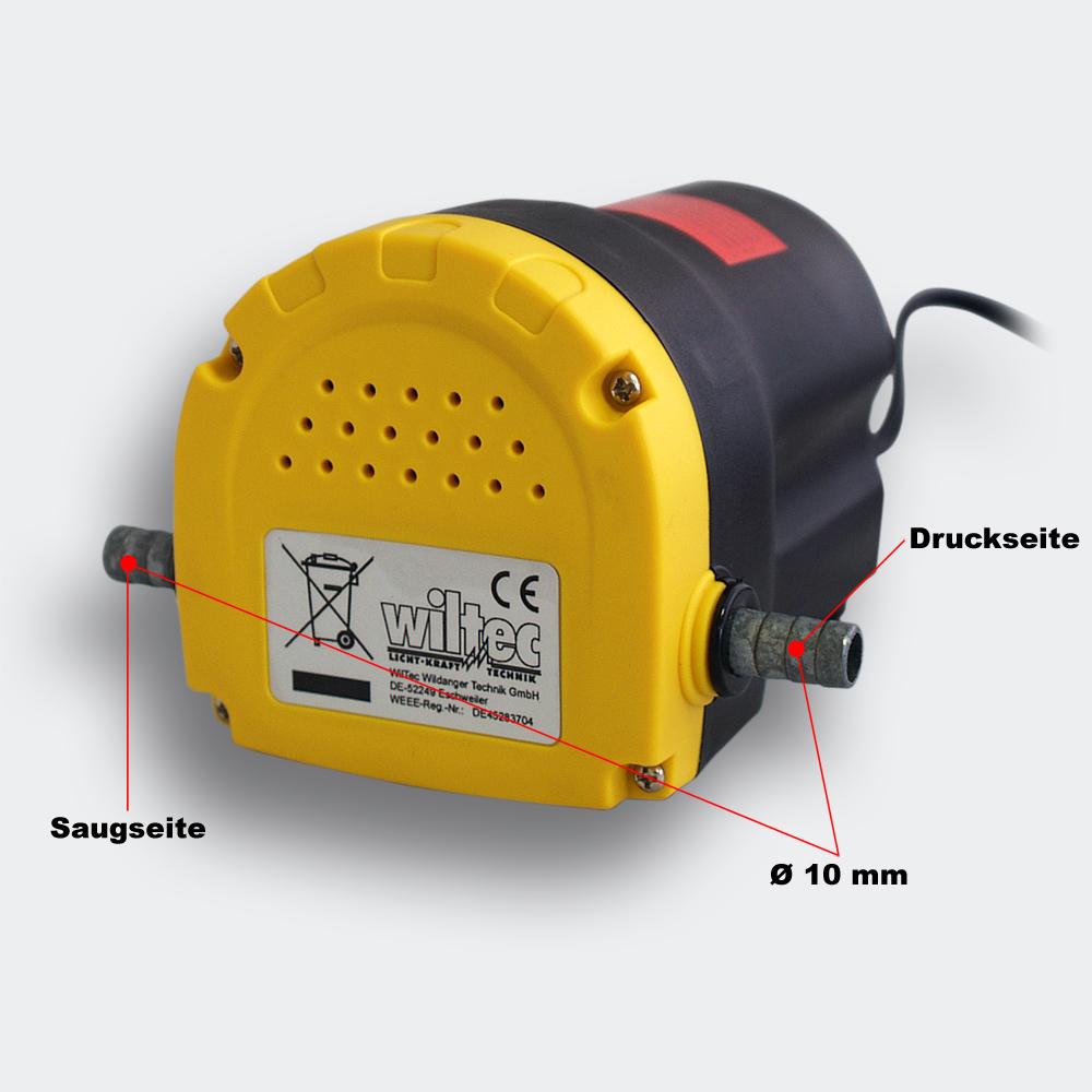 Oil Pump 12V / 5A - 60l/h