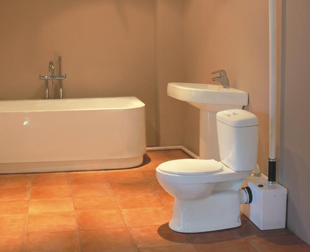 Hebeanlage F?r Dusche Im Keller : Basement Bathroom Pump Toilet