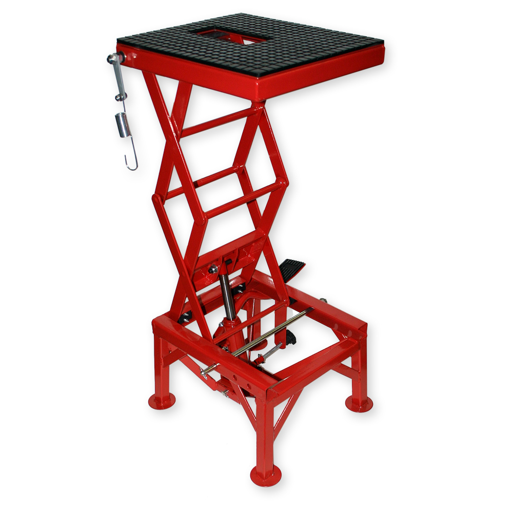 Hydraulic Motorcycle Stand : Lb kg hydraulic motorcycle workbench lift bike atv