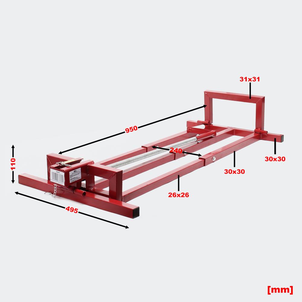wiltec hebevorrichtung aufsitzm her rasentraktor heber max 400kg hebevorrichtung. Black Bedroom Furniture Sets. Home Design Ideas