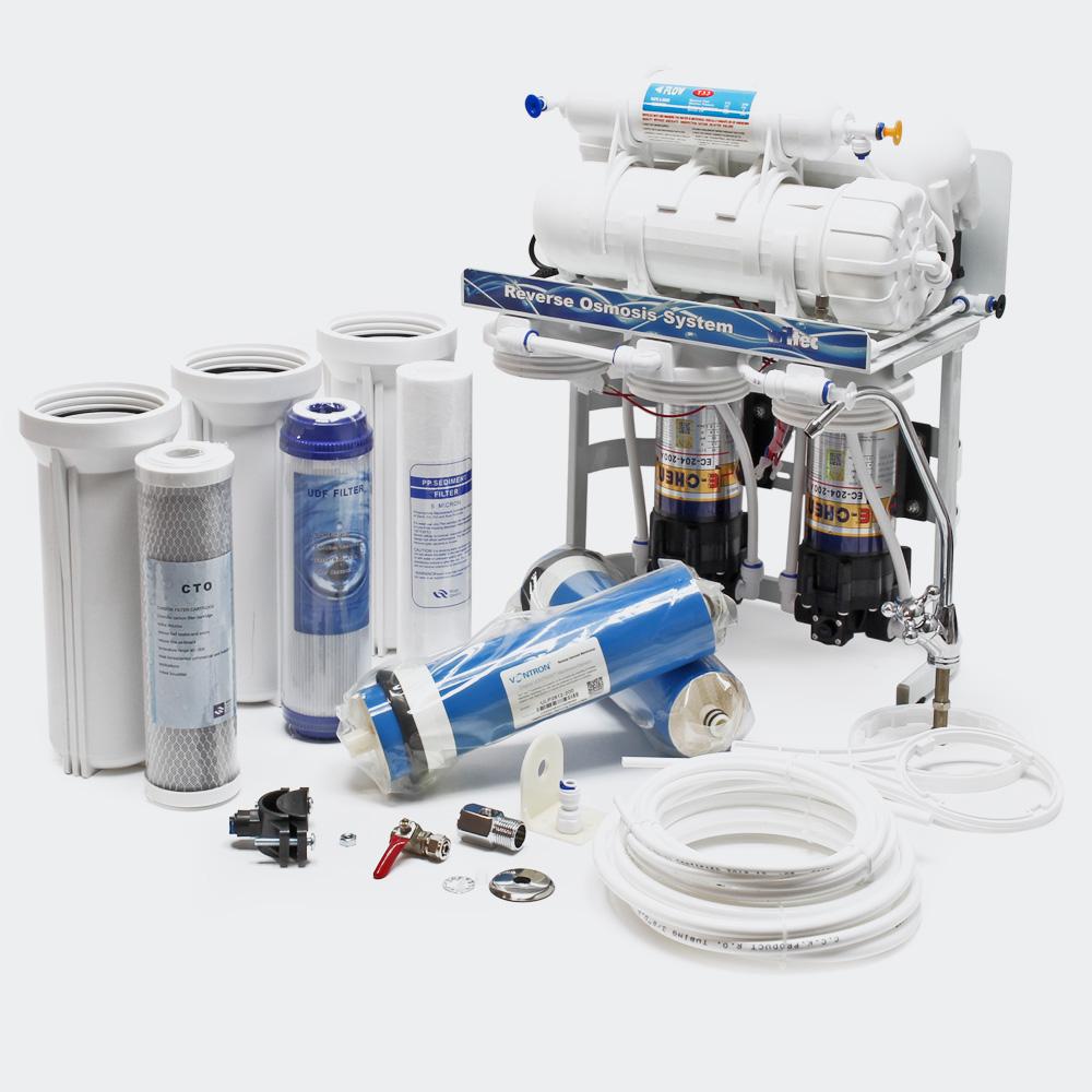 Umkehrosmose Wasserfilter, 5 stufig