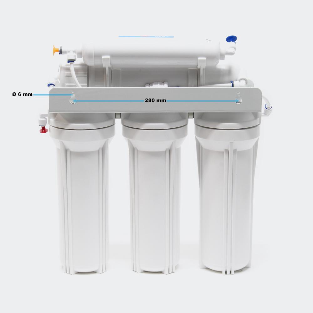 Umkehrosmose Wasserfilter, 5 stufen