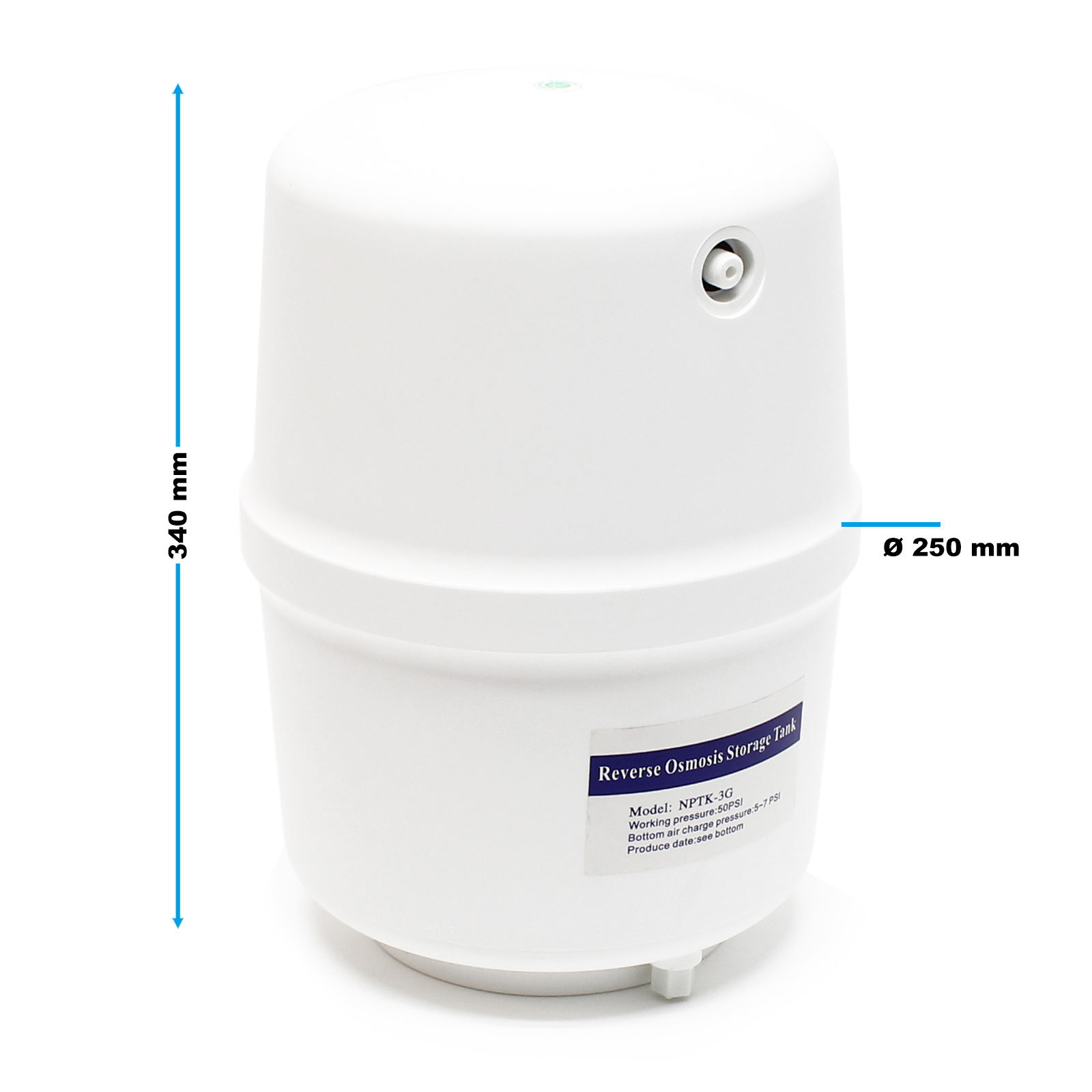 naturewater reverse osmosis  ro  190l  day nw
