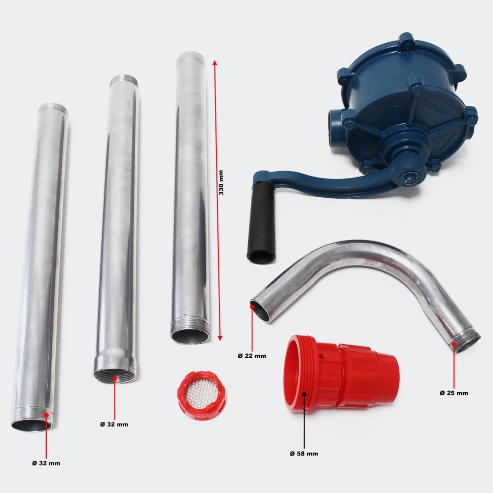 Alu Handpumpe / Faßpume fur Diesel-Heizol