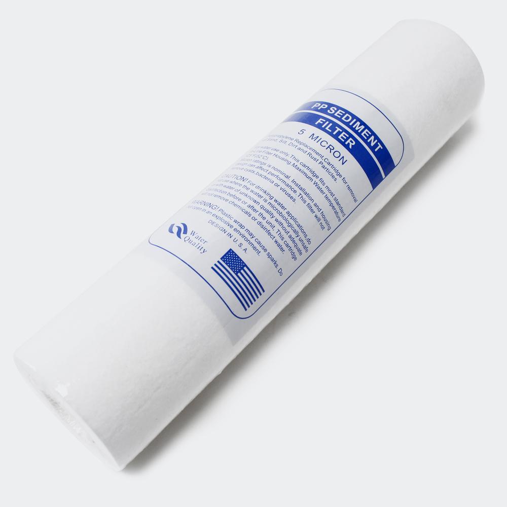 TR201 1-stufiger Counter Top Wasserfilter 5µ Sediment Filterpatrone