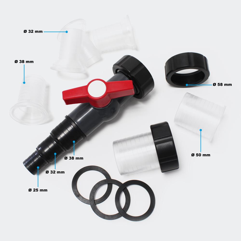 SunSun CPF-30000 Druckteichfilter UVC 55W bis 60000l Teiche