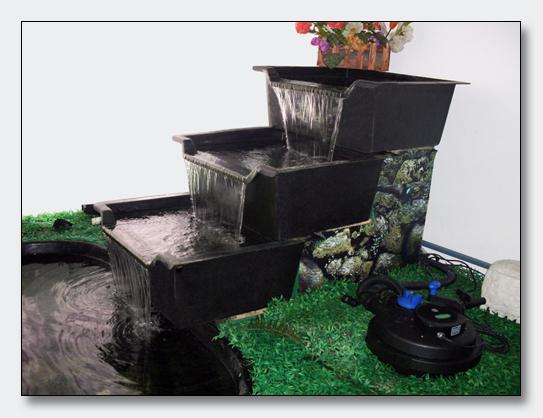 gartenteich wasserfall bachlauf teich xx cm element wanne schale ebay. Black Bedroom Furniture Sets. Home Design Ideas