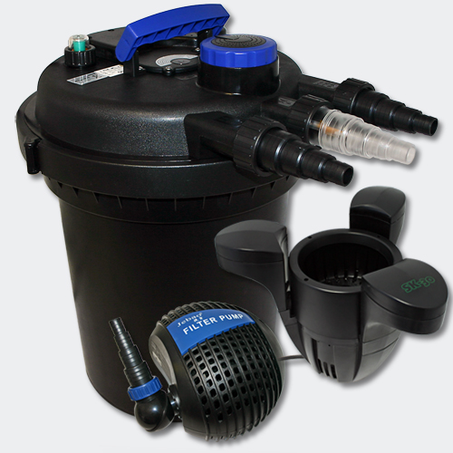 Aqua center trading kit bassin jusqu 39 a 10000 litres for Pompes et filtres pour bassins de jardin