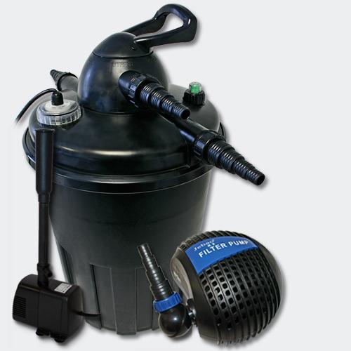 Aqua center trading kit bassin jusqu 39 a 15000 litres for Pompe a air pour etang