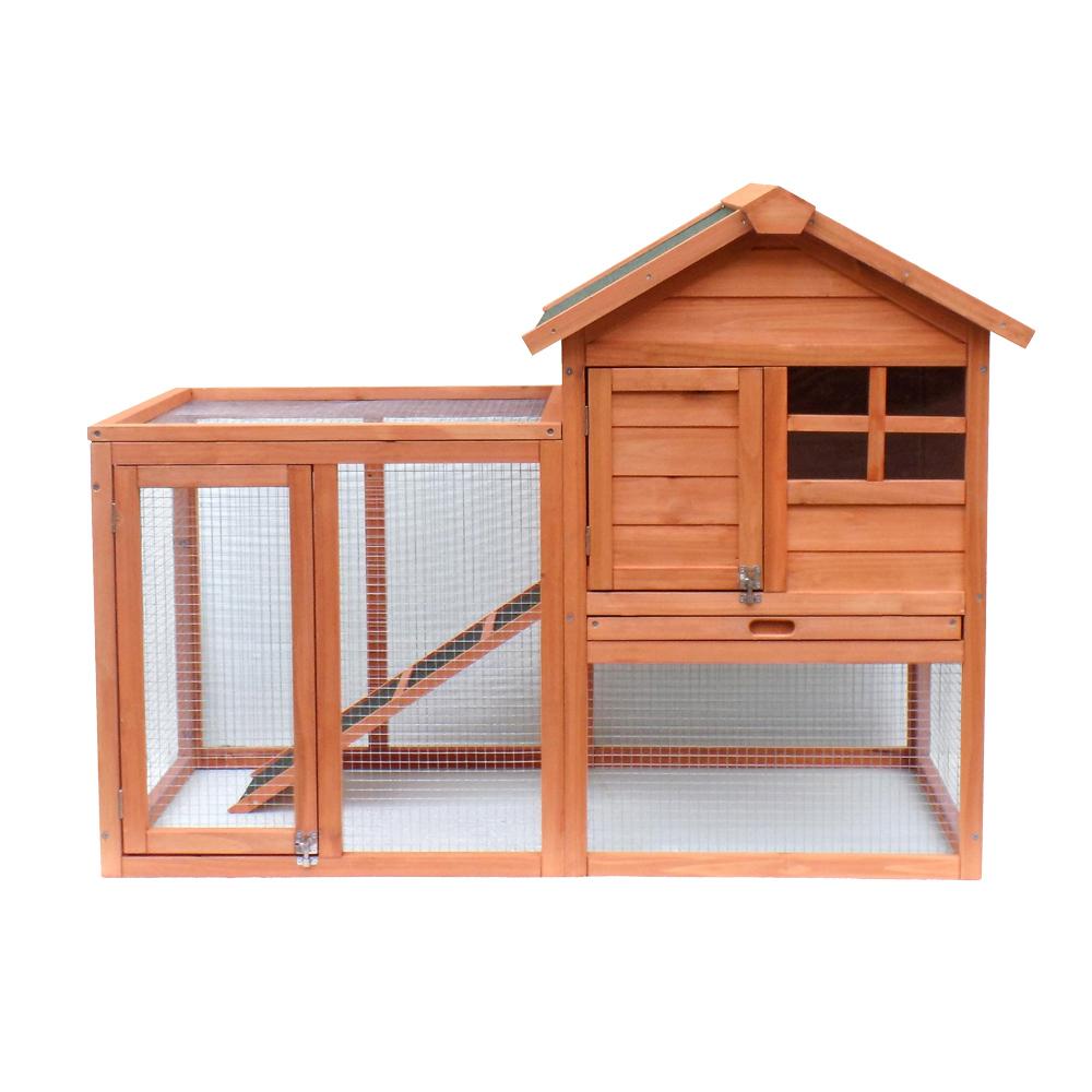 clapier lapin espace ext rieur grand abri bois d 39 pic a. Black Bedroom Furniture Sets. Home Design Ideas