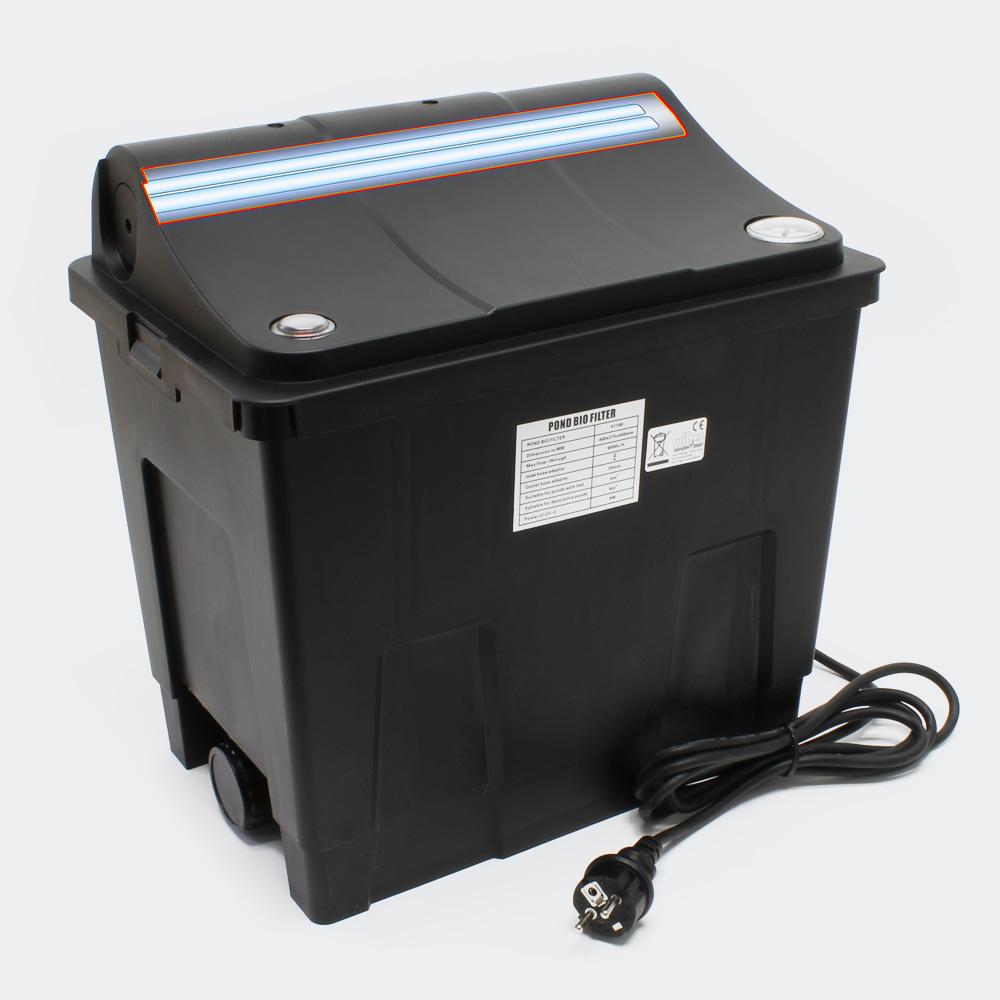 Biofilter CBF-200A Filteranlage + UV-C-Einheit