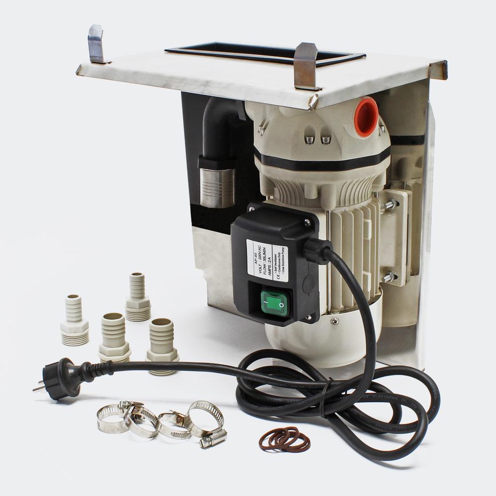 AdBlue® selbstansaugende Förderpumpe 40l/min 230V/400W Zählwerk