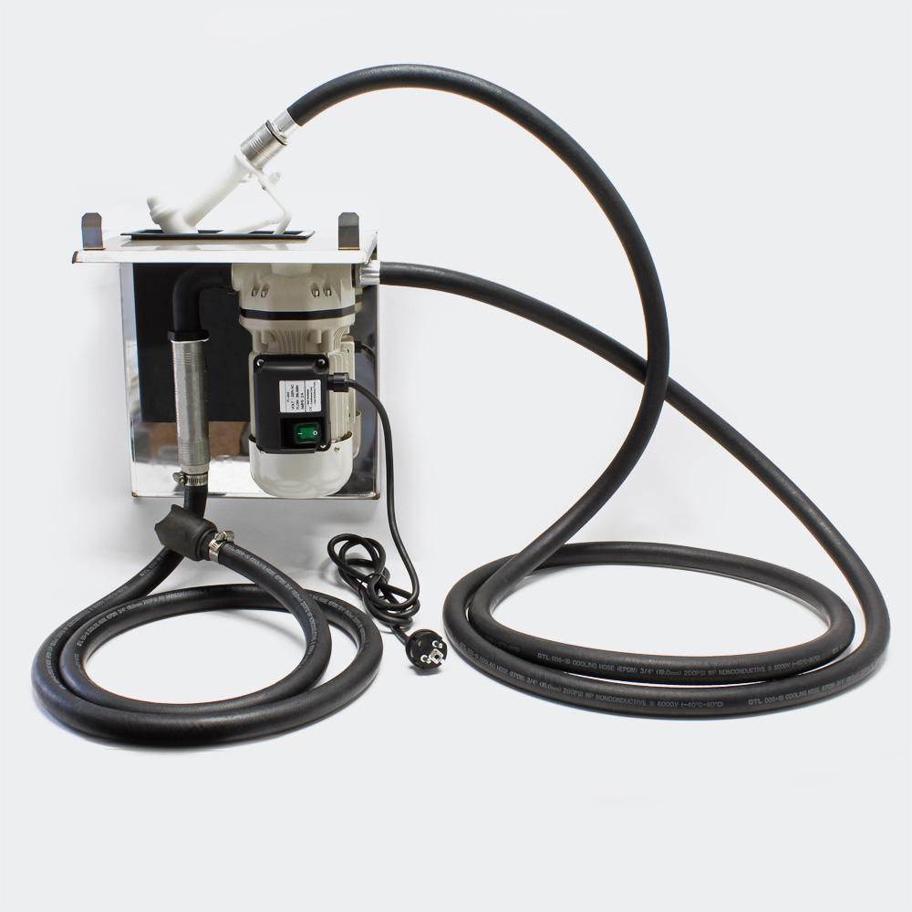 AdBlue® selbstansaugende Förderpumpe 40l/min 230V/400W Zapfpistole