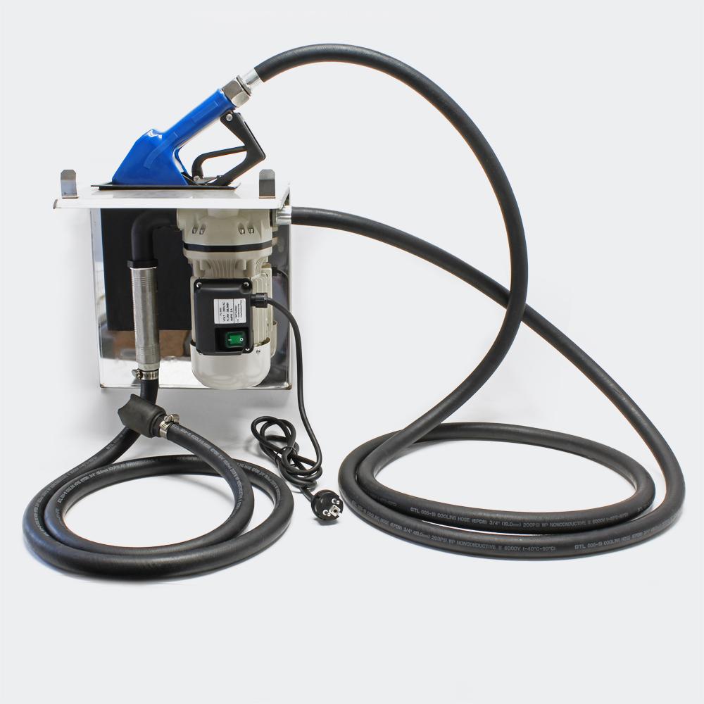 AdBlue® Förderpumpe selbstansaugend 40l/min 230V/400W Zapfpistole V2A