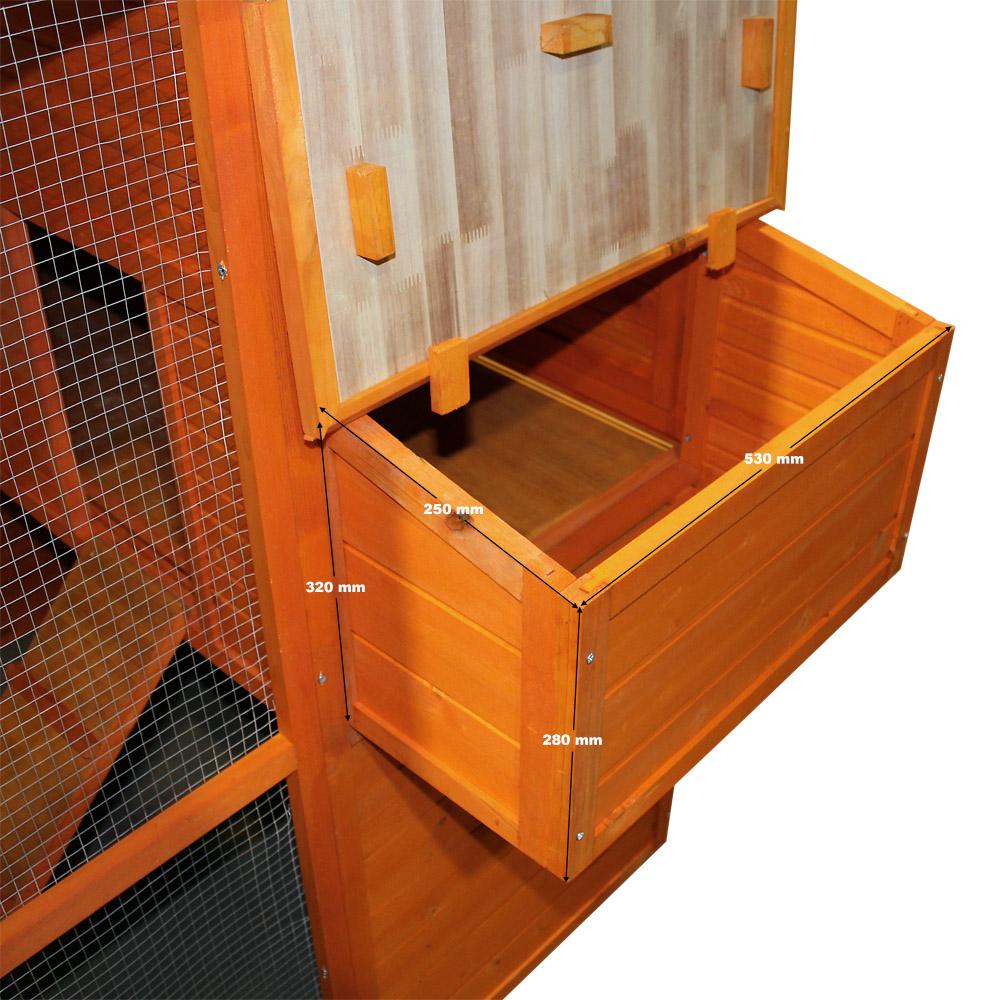 H 252 Hnerhaus Freilauf Holz Kleintierstall Stall Freigehege Gehege H 252 Hnerstall Ebay
