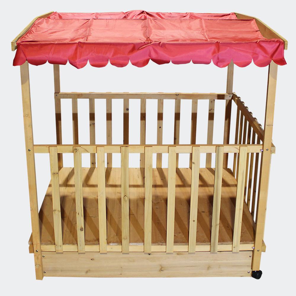 wiltec maison de jeux avec bac sable en bois couvert maison de jeux avec bac sable bois. Black Bedroom Furniture Sets. Home Design Ideas