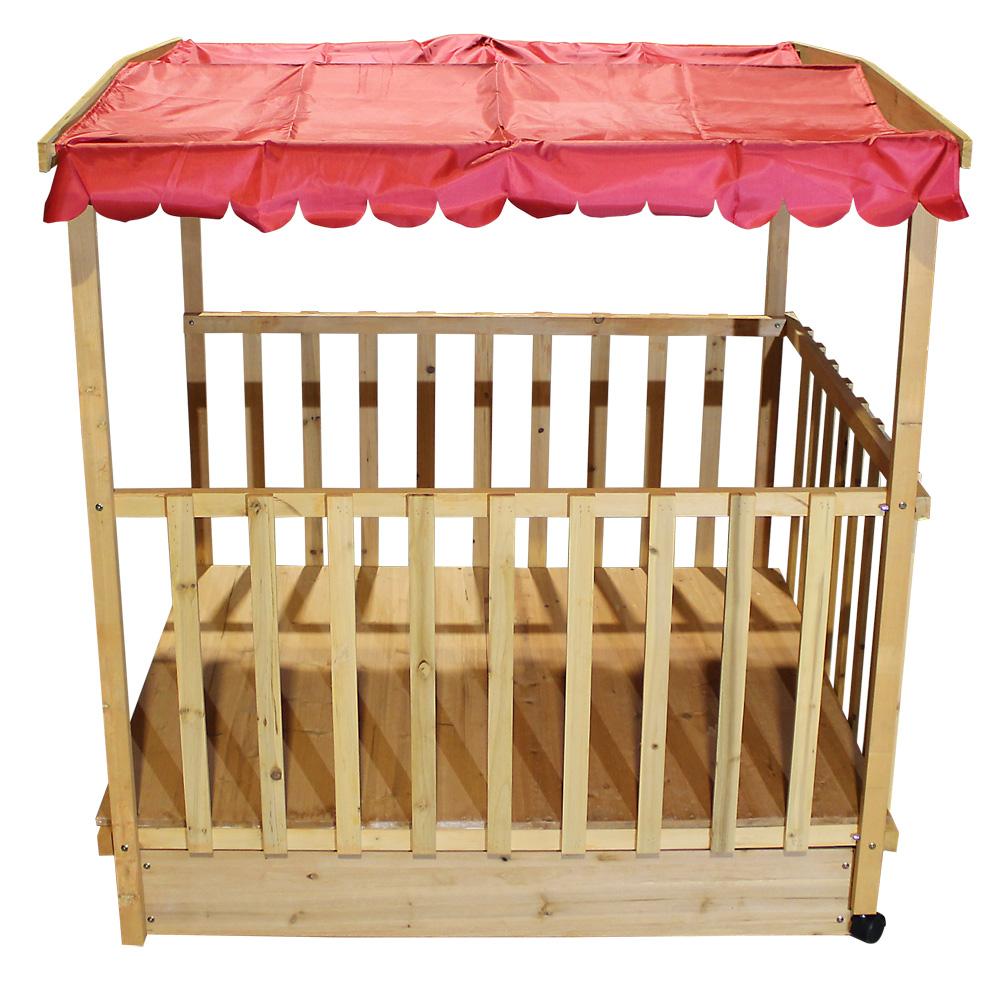 maison de jeux avec bac sable maisonnette de jardin bac sable bois toit ebay. Black Bedroom Furniture Sets. Home Design Ideas