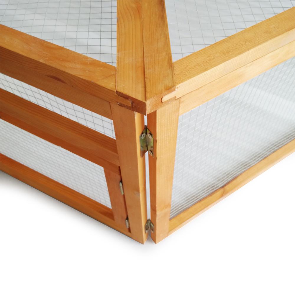 freilaufgehege holz 1760 mm x h460 mm abdeckung kleintierstall kaninchen hasen ebay. Black Bedroom Furniture Sets. Home Design Ideas