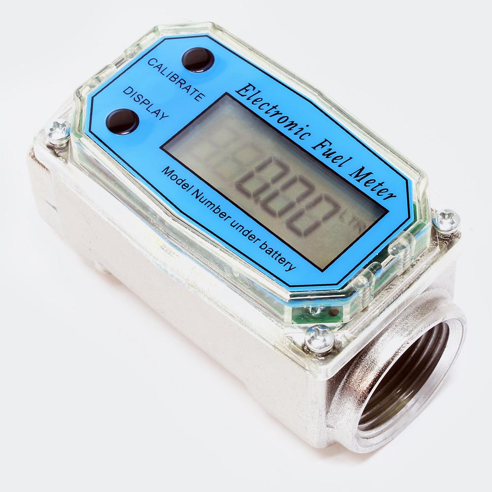 Durchflussmesser Digital Dieselpumpe Digitalzählwerk 38-380 l/min