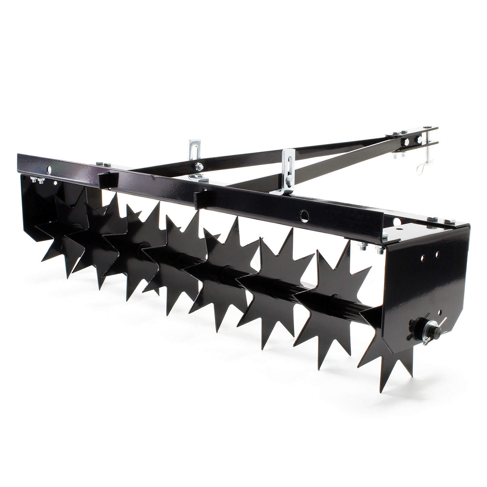 scarificateur peigne gazon d mousseur 120cm autoport e. Black Bedroom Furniture Sets. Home Design Ideas