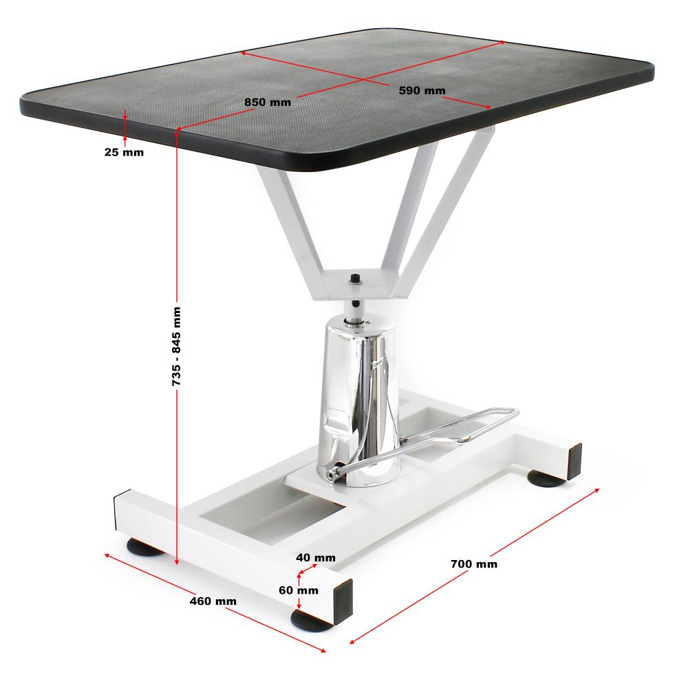 Table de toilettage Réglable en hauteur Table de soins Chien Chat ...